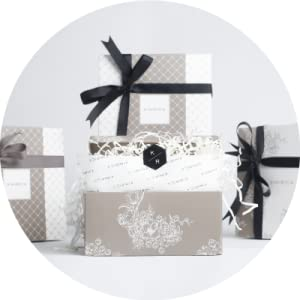 Elegantly packed in a gift box