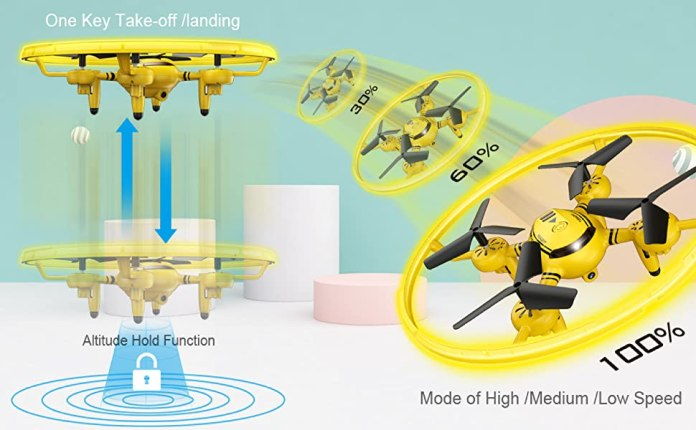 drones with altitude hold