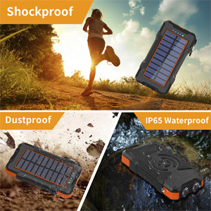 solar phone charger waterproof