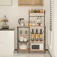 kitchen racks and shelves
