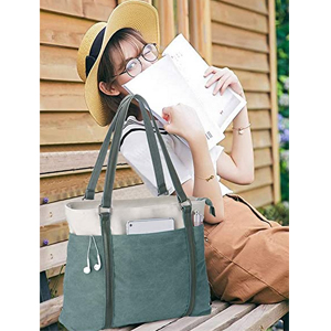 women shoulder tote for 15.6 inc laptop