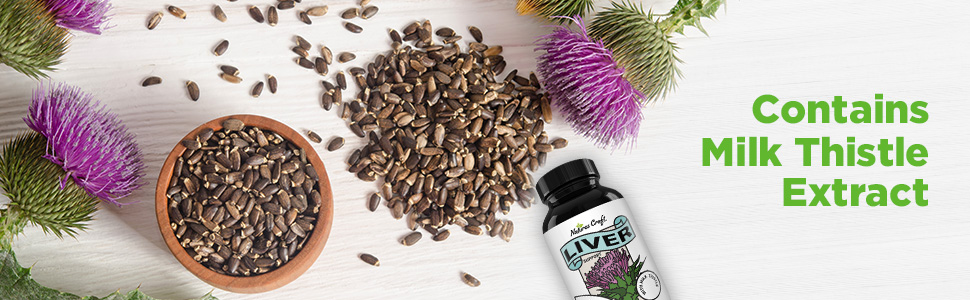 Contains Milk Thistle Extract