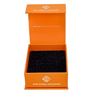 Package New World Diamonds Fancy Box Fine Jewelry Gift for Her Him