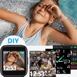 DIY watch face