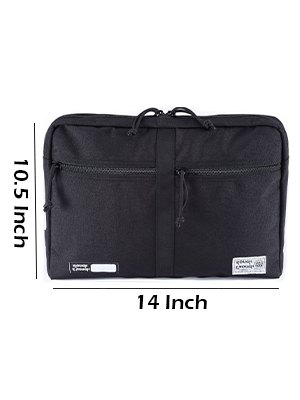Laptop bag edc pouch travel business briefcase for college school teacher student carrying tablet