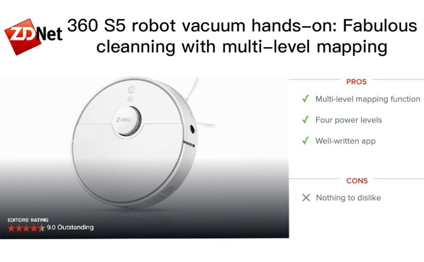 360 S5 ZD Net Outstanding