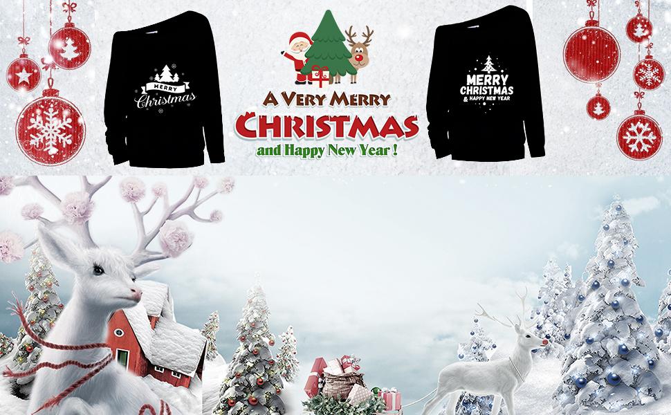 Christmas T Shirt Women Long Sleeve Plaid Splicing Tops Blouse