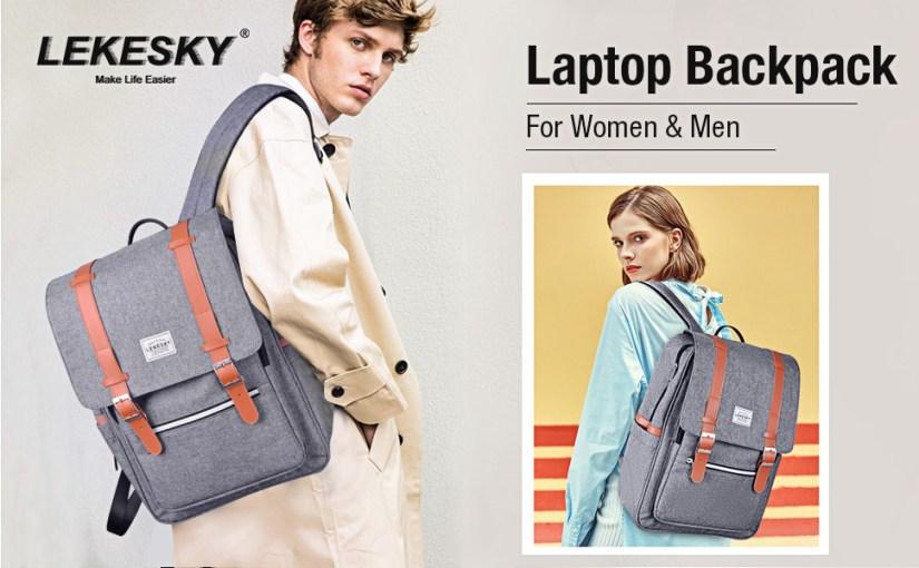 Lekesky Laptop Backpack for Women