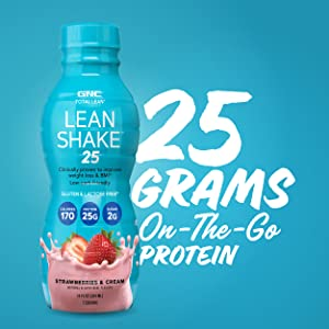 25 grams on the go protein