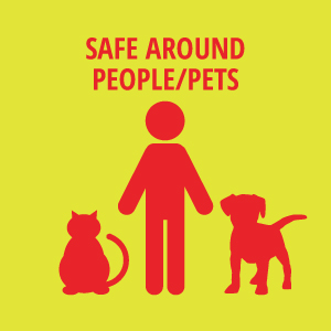 Safe Around People and Pets