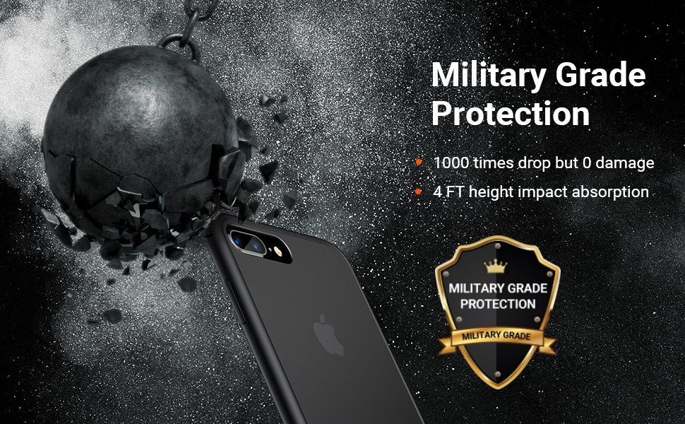 iPhone 7/8 plus case shockproof case