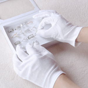 jewelry inspection gloves