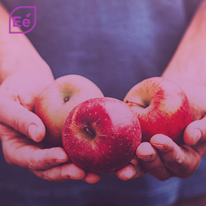 vinagre de maçã, gomas, maçãs, perda de peso
