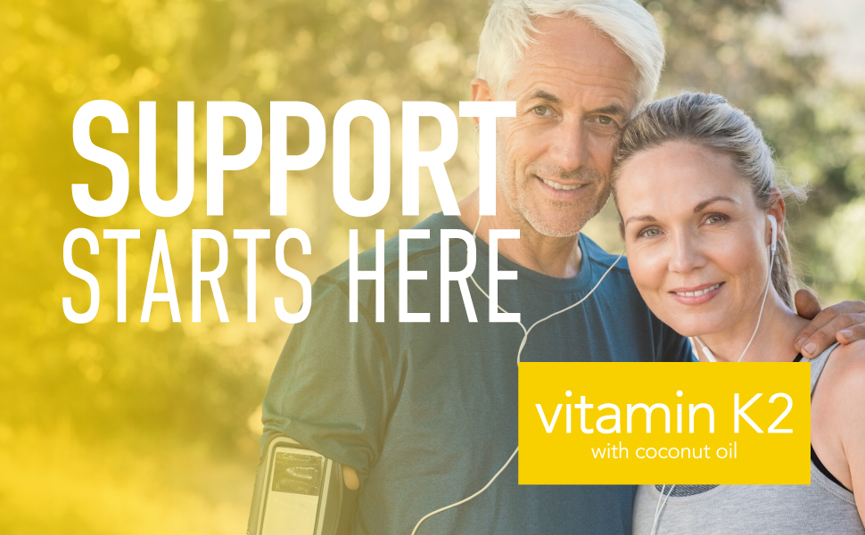 Sports Research Vitamin K2 with coconut oil
