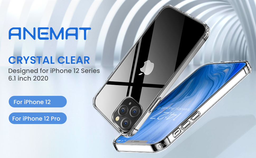CRYSTAL CLEAR CASE FOR IPHONE 12 PRO