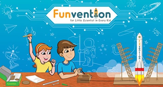 Funvention Startup,Make In India,Made In India,STEM Toys Startup,Indian Startup,Indian Toys Company
