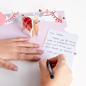 pop up greeting cards, 3D greeting cards, greeting card pop up