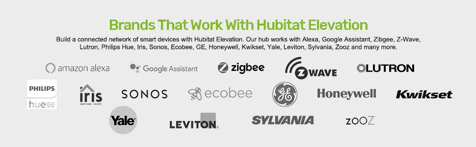 Alexa, google assistant, zigbee, z-wave, luton, ecobee, Sonos, Phillips hue, kwikset