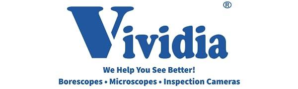 Vividia Borescopes, Mikroskoplar ve Muayene Kameraları