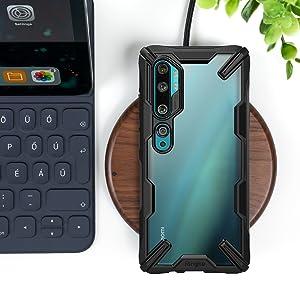 Ringke Fusion X Designed for Xiaomi Mi Note 10 Case, Xiaomi Note 10 Pro, Xiaomi Mi CC9 Pro Case