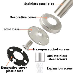 Stainless Steel Bathroom Balance Bar