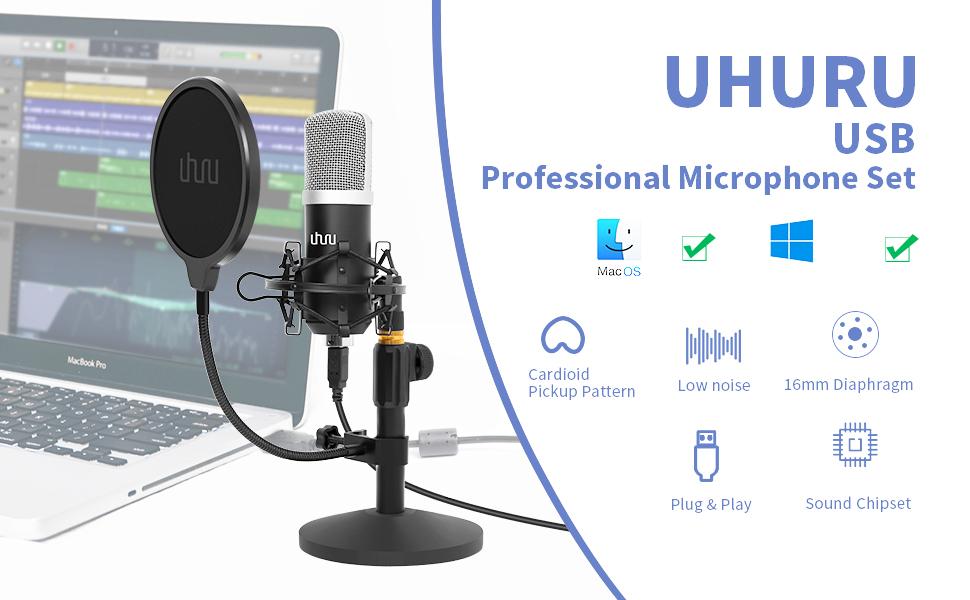 USB-Kondensatormikrofon-Kit