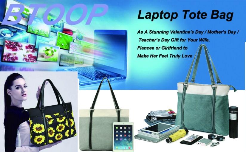 women laptop tote bag