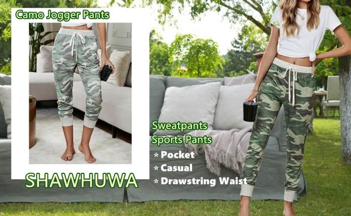 Camo Jogger Pants Sport Pants Jogger Sweatpants