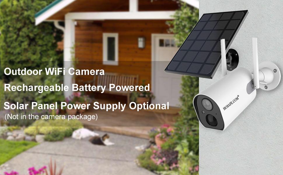Solar Powered Security Camera, Solar Security camera, solar panel, solar panel for secuirty camera