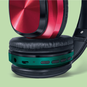 FINGERS Sugar-n-Spice Headset with contrasting earcups
