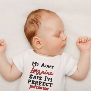 Perfect Aunt Baby Girls Clothing