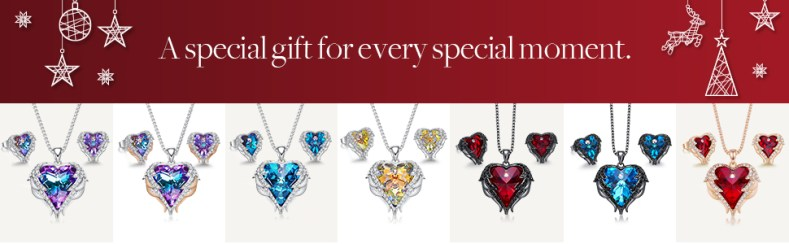 Christmas Jewelry Gifts for Mom  christmas necklaces for women