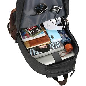 Backpack capacity display