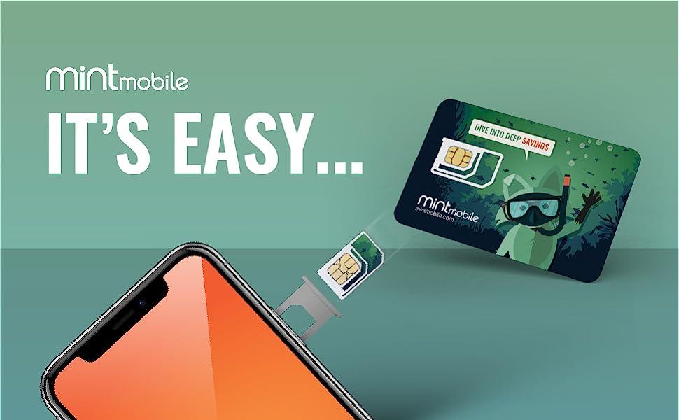 Mint Mobile It's Easy