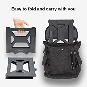 portable computer stand stand for laptop computer accessories adjustable laptop riser macbook holder