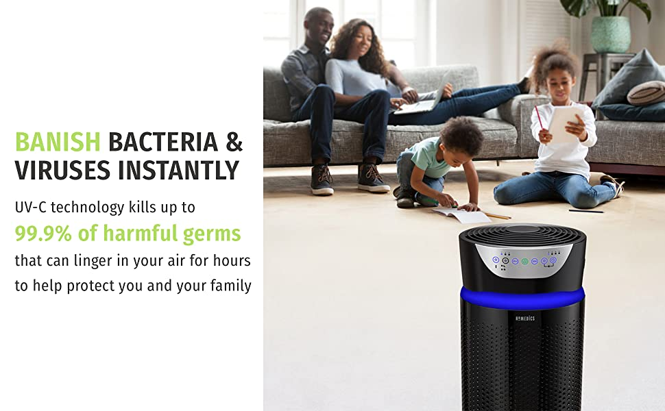 homedics, air purifier