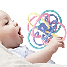 Super soft  silicone fish-shaped teether Multiple teething surfaces aid in the eruption of new teeth