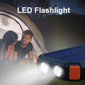 Built-in Flashlight