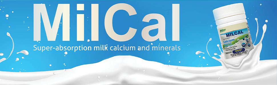 milk calcium minerals milcal