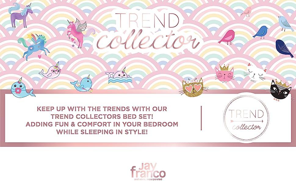 Trend Collector, rainbow, unicorn, cats