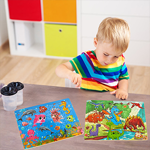 toddler puzzles 2 year old puzzles for kids ages 3-5 kids puzzles age 4