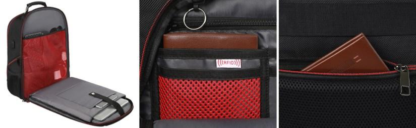 TSA & RFID Anti-theft Laptop Backpack