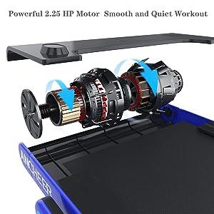 Under Desk Portable Treadmill