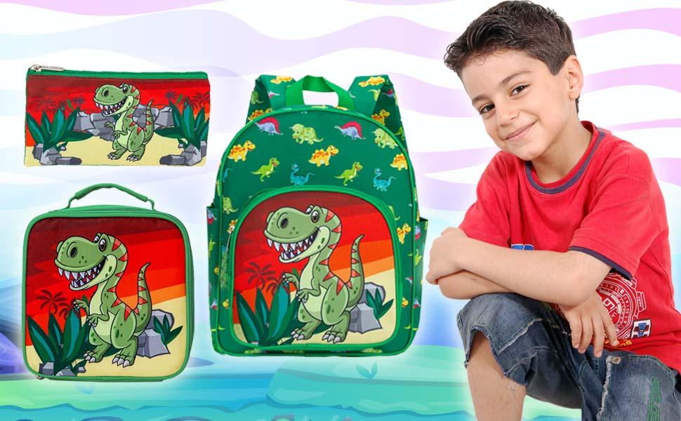 toddler backpack dinosaur