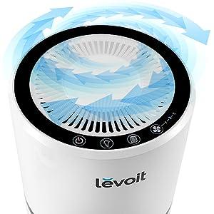 purificador aire para hogar filtro hepa carbon activo compacto levoit air purifier