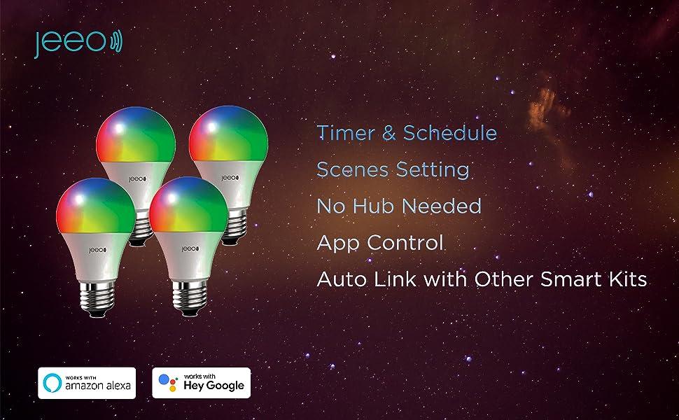 Jeeo Smart Wifi Color Lights