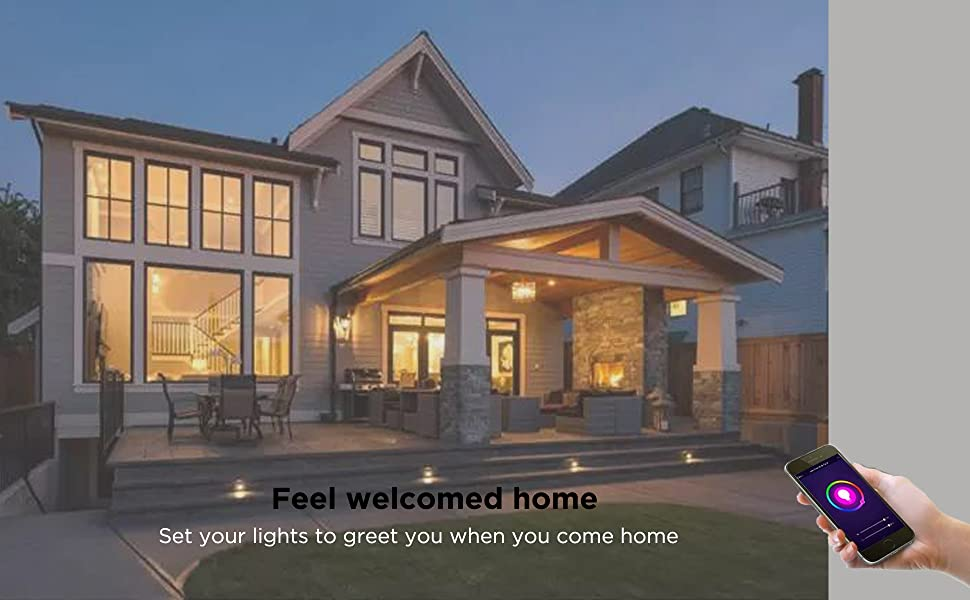 Light up your home at any place with app