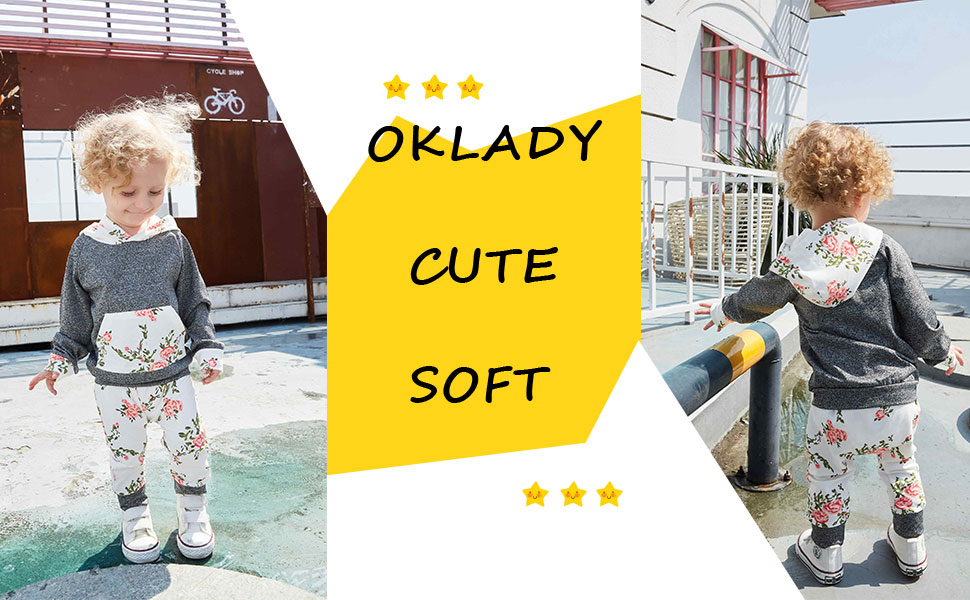 baby girl grey  tops baby girl flower legging pants