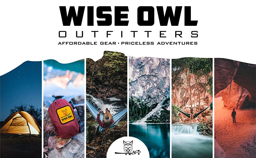 Wise Owl Outfitters. Affordable Gear. Priceless Adventures.