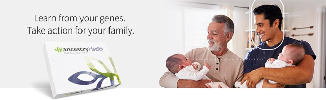 Learn from your genes. Take action for your family.